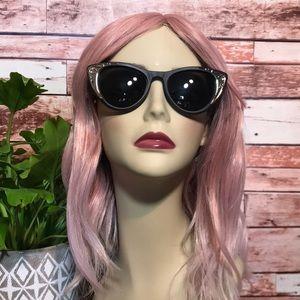 SPITFIRE cat eye sunglasses w/ silver detail